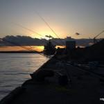 和歌山の夕焼けが美しかった